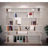 Estanteria, Biblioteca De Diseño, Rack Divisor De Ambiente
