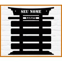 Porta Faixas Karate Jiu-jitsu Taekwondo Judô Personalizado
