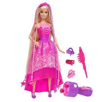 Barbie Reino De Peinados Mágicos Princesa Trenzas Mágicas Ma