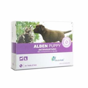 Desparasitante Para Perro Cachorro Alben Puppy 30 Tabletas.