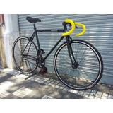 Bicicleta Fixie Single Speed Urbana Rod 28 Pistera Carrera