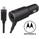 Turbo Cargador Original Motorola Auto Moto X G4 G5 Plus Play