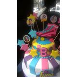 Torta Soy Luna, Frozen, Dr Juguete, Hombre Araña, Transforme