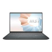Notebook Msi Modern 14 B10mw I3-10110u Ram 8gb Ssd 256gb W10