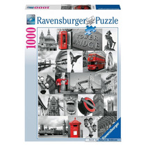 Puzzle Ravensburger Londres London 1000 Piezas La Plata