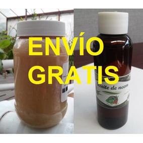2 Jabón Potásico 500 G + 2 Aceite Neem 60 Ml - Envío Gratis