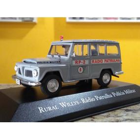 Rural Willys Rádio Patrulha Polícia Militar 1960