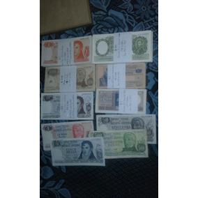 Billetes Antiguos M$n Y Peso Ley. X 7unidades