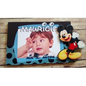 Portaretrato Souvenirs Mickey Mouse 10x15cm X 10 Unidades