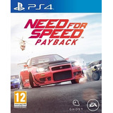 Need For Speed Payback Ps4 Formato Digital
