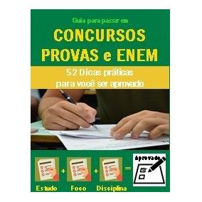 E-book - 52 Dicas De Provas, Concursos E Enem + Brinde