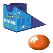 Tinta Acrílica Orange Gloss Ral 2004 18ml Revell 36130