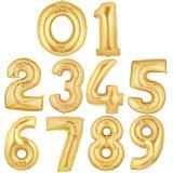 Globos En Forma De Numero 90 Cm. Marca Anagram