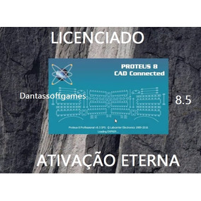 Proteus 8.5 Cad Connected Para Pc - Engenharia Inteligente