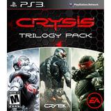 Crysis 1,2,3 Trilogy Ps3 Licencia Digital 3en1