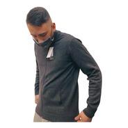 Sweater Gris Quiksilver Boketto Hombre Original