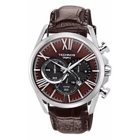 Relógio Technos Masculino Legacy Os20ee/0m Couro Lançamento