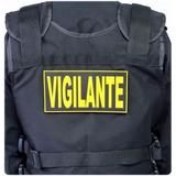 Kit 20 Emborrachados P/capa Colete Vigilante Atacado Revenda