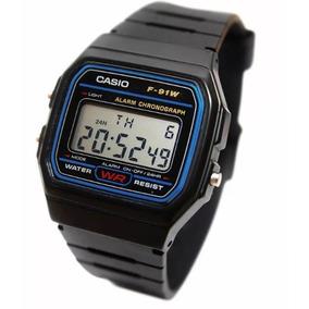 Reloj Hombre Casio F91w Digital Clasico Original Relojes