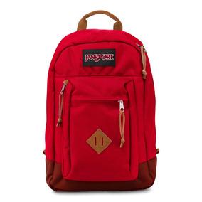 Mochila Jansport Reilly Porta Laptop Viking Red Js00t70f-9fl