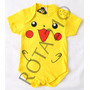 Body Fantasia Pokemon Go Pikachu Para Bebês