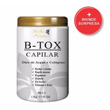 Bo-tox Capilar 1kg - Hidrata E Reduz Volume 100% + Brinde