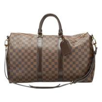 Mala De Viagem Louis Vuitton Keepall.couro Legitimo