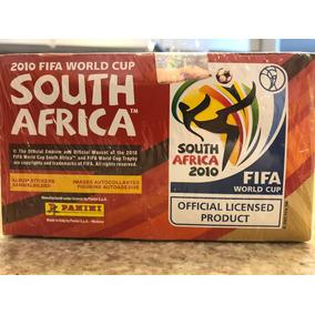 Figurinhas Copa Do Mundo 2010 Caixa Com 100 Pacotes