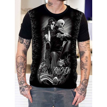 Camisa Camiseta Motoqueiro Fantasma