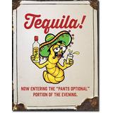 Anuncio Poster Lamina Metalico Tequila 0248