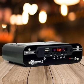 Módulo Amplificador Ab Taramps Home 80 Bt Bivolt 4ch 80 Wrms