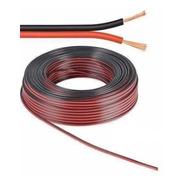 Cable Para Parlante Rojo Y Negro 2 X 1 Mm X Metro Ofc