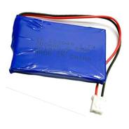 Batería Mini De Lítio Recargable 3.7v 700mah Con Conector