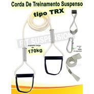 Corda Tipo Trx Fit Suspension Suspension Training Bem Forte