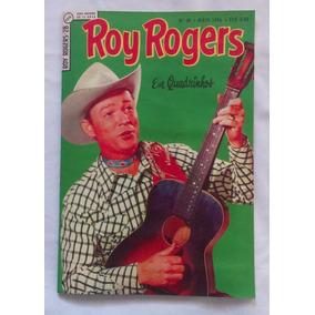 Roy Rogers - Nº 28 - 1ª Série - Fac-símile