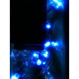 Luces De Navidad Led 100 Bombillos Luz Azul Oferta
