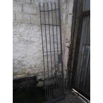 Portão Porta Social Grade Lança Med 2.20x0.52