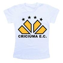 Camiseta Infantil Futebol Criciuma Cb159