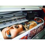 M2 Impresión Vinilo Mural Gigantografia Heladera Puerta Plot
