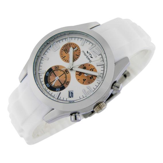 Reloj Montreal Mujer Ml705 Calendario Sumerg Envío Gratis
