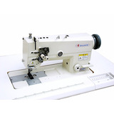 Máquina Recta Plana 2 Agujas Industrial Garantía Maxmark