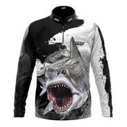 Camiseta Pesca Pqs Fishing Ref 65 Uv 50+ ( Lançamento )