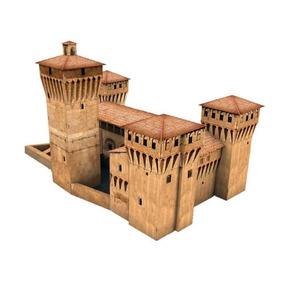 Maqueta Castello De La Roche (para Armar En Papel)