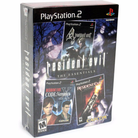 Colección 3 Resident Evil Incluye Resident Evil 4 Ps2 Nuevos