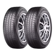 Kit X2  Bridgestone 175 65 R14 82h Ecopia Ep150 18 Cuotas