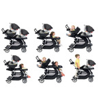 Coche Doble Graco Ready2grow/melonitutito