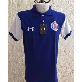 Playera Tipo Polo Cruz Azul Futbol Talla Xl Envío Gratis