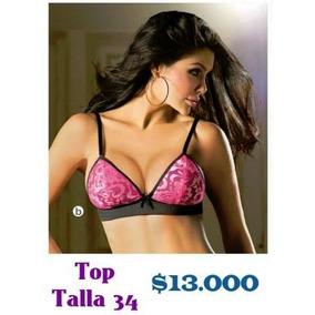 Top Femenino Tipo Brasier Talla 34