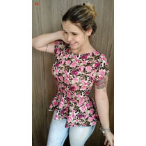 Blusa Peplum Moda Instagram Varios Modelos Mais De 20 Model