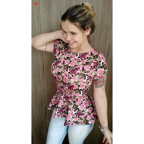 blusa peplum moda instagram varios modelos mais de model